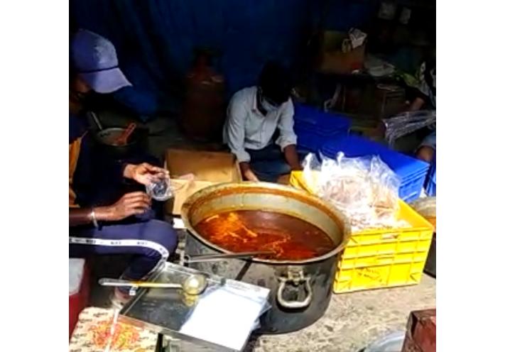 100 Essenspäckli für Indien