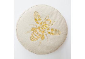 Pouf Biene Gold