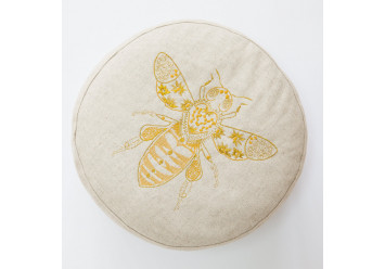 Pouf with bee