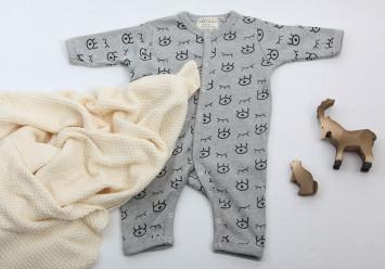 BABY STRAMPLER mit Äuglein