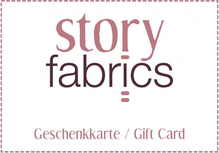 Storyfabrics Geschenkkarte