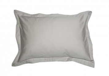 PILLOW CASE SATEEN WITH VOLANT SAND