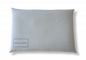 Pillow with millet hulls